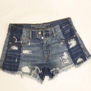 American Eagle Outfitters Shorts - American Eagle High Rise Festival Shorts Sz 4